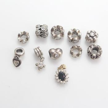 30g Silver Jewelry, 11 Pieces