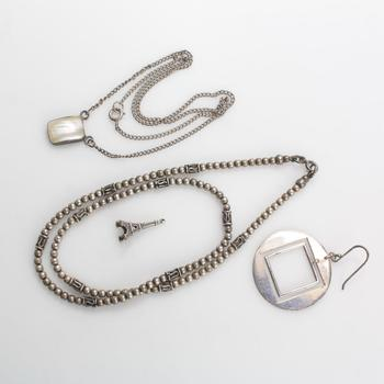 30g Silver Jewelry, 4 Pieces