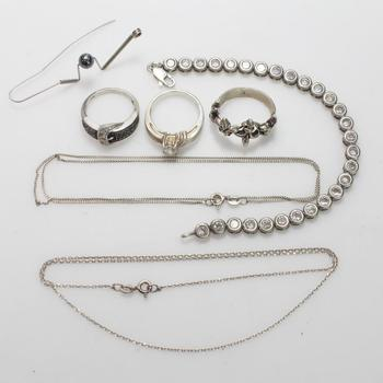 32.79g Silver Jewelry, 7 Pieces