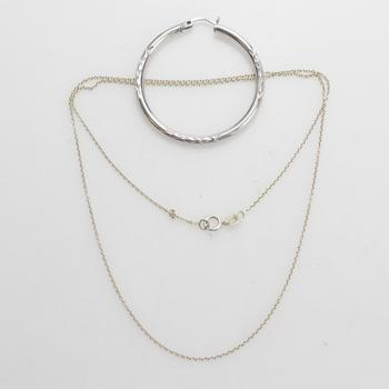 3.38g Silver Jewelry, 2 Pieces