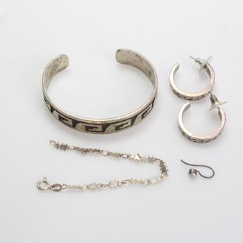 33g Silver Jewelry, 5 Pieces