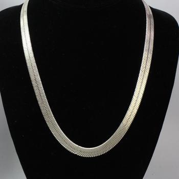37.71 Silver Necklace