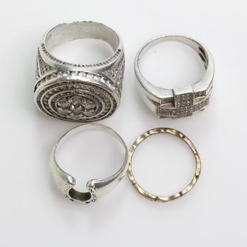 38.76g Silver Jewelry, 4 Pieces