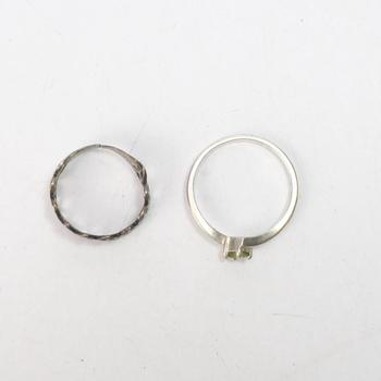 3.93g Silver Jewelry, 2 Pieces
