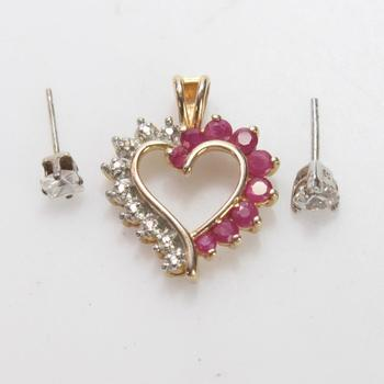 3g Silver Jewelry, 3 Pieces