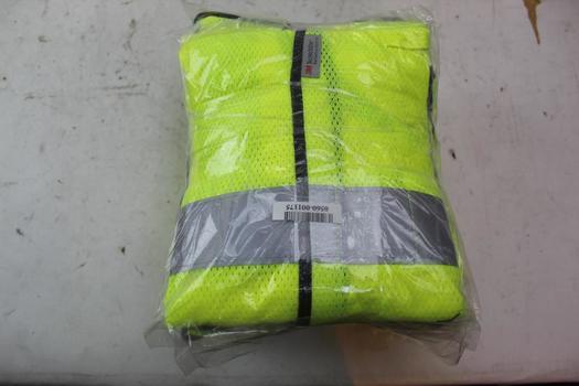 3M Scotchlite Reflective Vests; Size Xl-2xl; 11 Pieces
