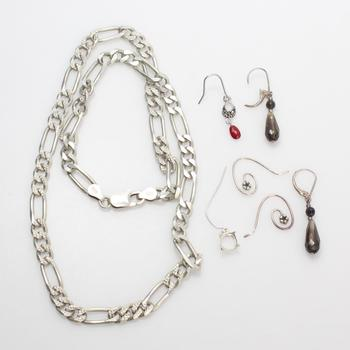 40g Silver Jewelry, 7 Pieces