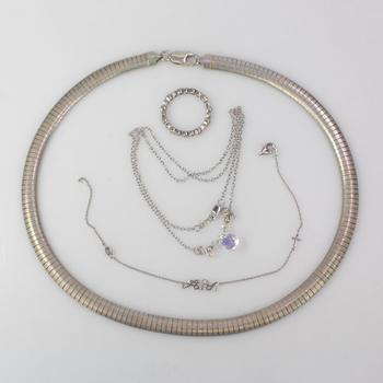45.02g Silver Jewelry, 4 Pieces