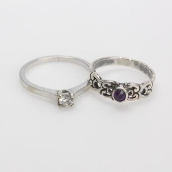 4.79g Silver Jewelry, 2 Pieces