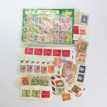 50+ Piece Stamp Collection