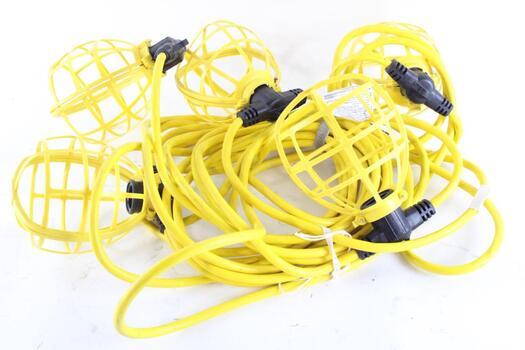 50ft Temporary Construction String Light