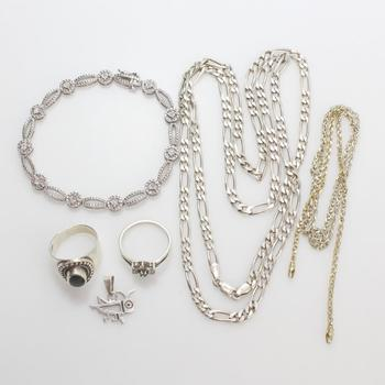 50g Silver Jewelry, 6 Pieces