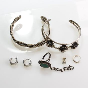 50g Silver Jewelry, 7 Pieces