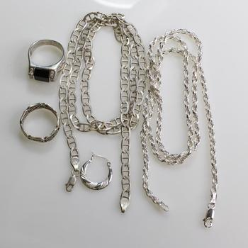 51.08g Silver Jewelry, 5 Pieces