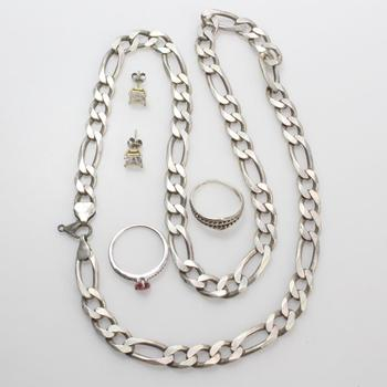 52g Silver Jewelry, 5 Pieces