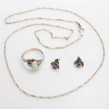 6.34g Silver Jewelry, 4 Pieces