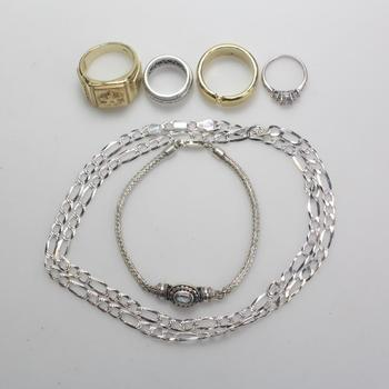 64.5g Silver Jewelry, 6 Pieces