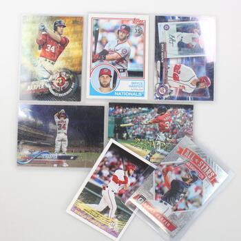 7 Bryce Harper Baseball Cards