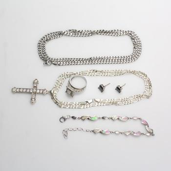 71g Silver Jewelry, 6 Pieces