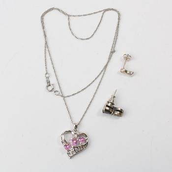 7.86g Silver Jewelry, 4 Pieces