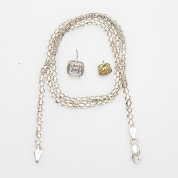 7.90g Silver Jewelry, 3 Pieces