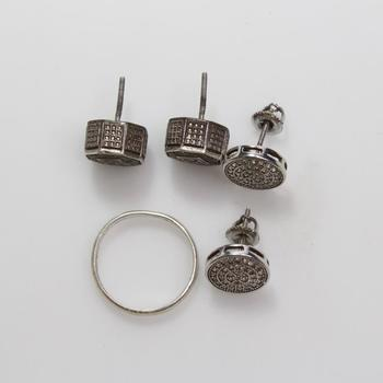 7.94g Silver Jewelry, 5 Pieces