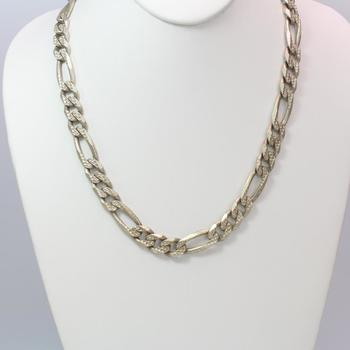 .800 Silver 99.78g Necklace