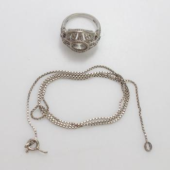 8.75g Silver Jewelry, 2 Pieces