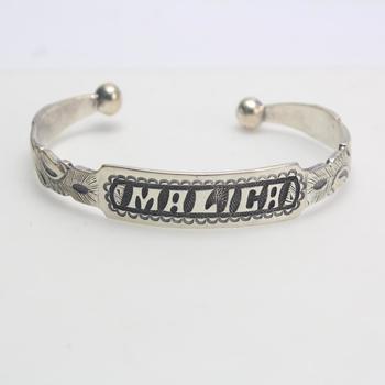 .900 Silver Bracelet, 28.40g
