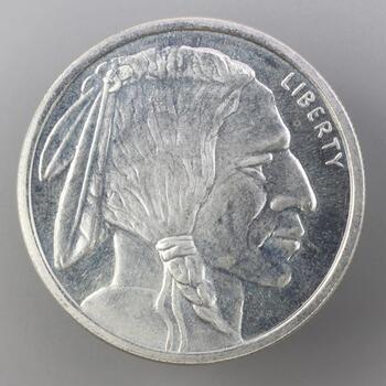 .999 Silver Golden State Mint Buffalo 1 Troy Oz Round