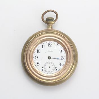 9k GP Waltham Pocket Watch