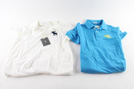 Abercrombie & Fitch Polo Shirts, XL, 2 Pieces