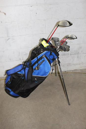 Academy Bag With Clubs, 14 Pieces