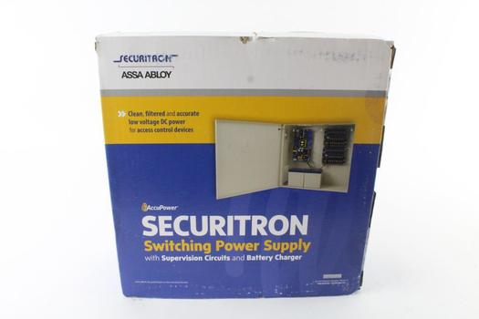 AccuPower Securitron Switching Power Supply With Supervision Circuits And Charger