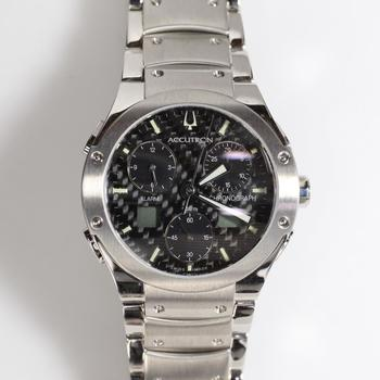Accutron By Bulova Chronograph Watch