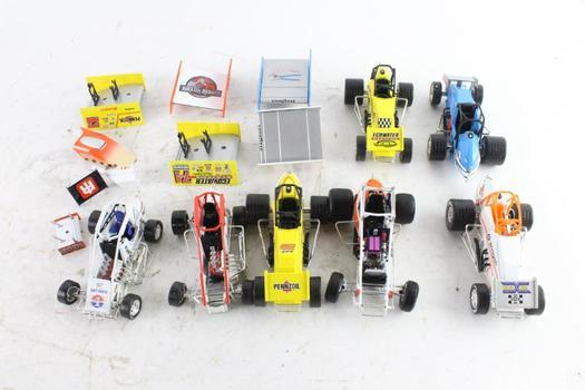 Action Collectibles Sprint Cars, 7 Pieces