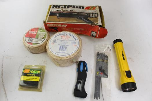 Actron Timing Light, Sisal Rope, Screwdrivers And More: Rayovac: 5+ Items