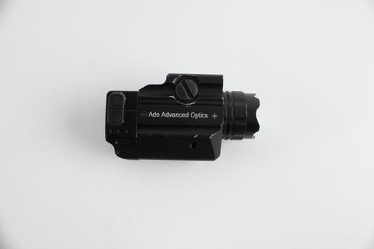 Ade Advanced Optics Crusader Series Compact Green Laser With Flashlight