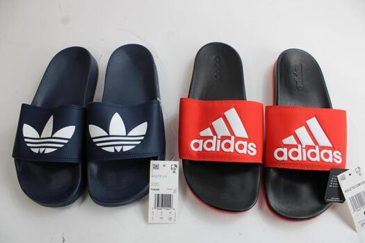 Adidas Adilette Comfort/ Adilette Lite 2 Pairs