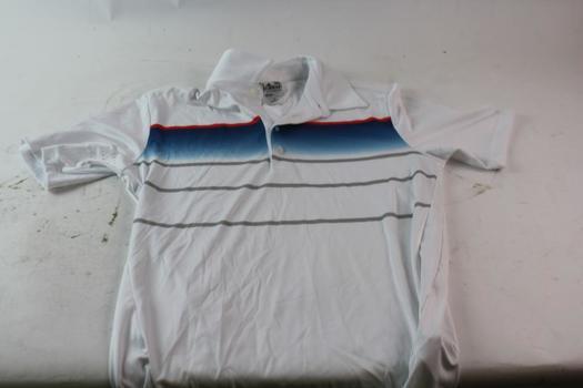 Adidas Mens Polo Shirt, Size Small