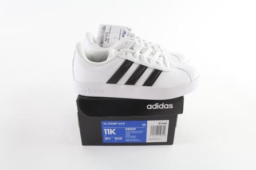 Adidas VL Court 2.0 K Kids Shoes Shoes, Size 11K