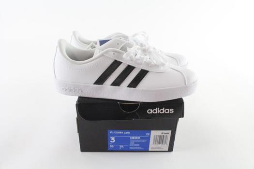 Adidas VL Court 2.0 K Kids Shoes Shoes, Size 3