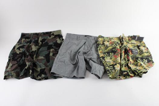 Aeropostale And Other Shorts, 30 And 32, 3 Pieces