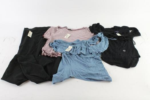 Aeropostale Women's Shirts And Leggings Size Small Through Large, 4 Pieces