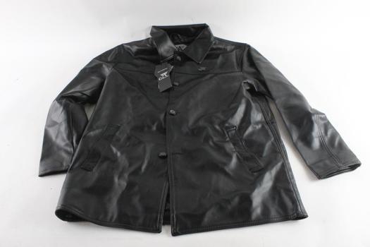 AG Milano Leather Jacket, Size Large