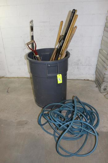 Air Hose, Shovels, And More, 5+ Pieces