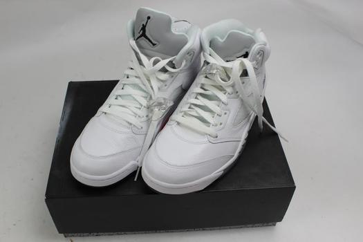 Air Jordan 5 Retro 'Metallic White' 2015 Shoes Size 11