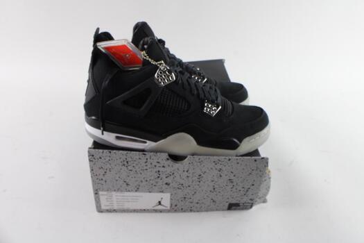 Air Jordan x Eminem - Air Jordan 4 Retro Eminem Carhartt 'Black Chrome' SZ 10.5 With Box & COA