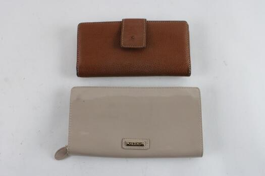 Aldo And Unknown Womens Wallets, 2 Pieces