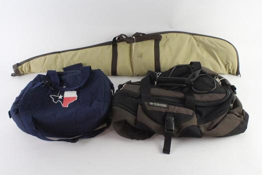 Allen Soft Shell Rifle Carrying Case And More, 3 Pieces